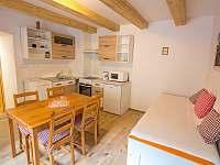Jídelna a kuchyňský kout (A2) Jednolůžko/ Dvojlůžko