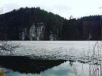 Rybník Věžák v zimě