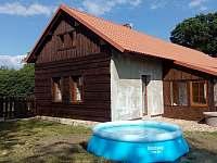 Chalupa k pronájmu - dovolená Jičínsko rekreace Vrbice nad Cidlinou