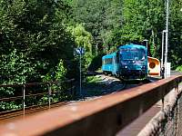 železniční zastávka - Spálov