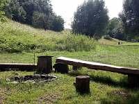 ohniště - chata k pronájmu Mladějov - Hubojedy