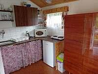 Kuchyň Bruno - pronájem chaty Branžež