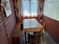 Kuchyň Hanča - pronájem chaty Branžež