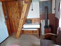 Obývací pokoj Hanča - chata k pronajmutí Branžež