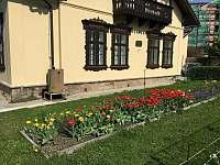 Šimákova vila na jaře - apartmán ubytování Turnov