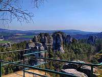 Hruboskalské skalní město - pronájem chalupy Ploukonice