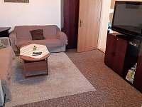 obývací pokoj 1.apt 1.dolní část - chalupa k pronájmu Pařezská Lhota