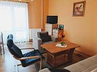 obývací pokoj 2.apt se vstupem na 2.terasu - Pařezská Lhota
