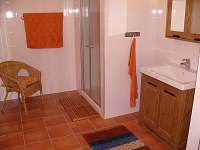 koupelna - pronájem chalupy Troskovice