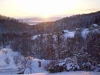 pohled z terasy - Kyje