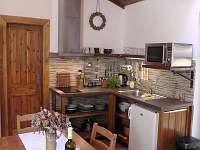 Kuchyňský kout - apartmán k pronájmu Libunec