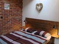 Ložnice 1 - apartmán ubytování Libunec