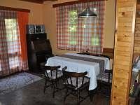 jídelna - chata ubytování Březka - Jinolice