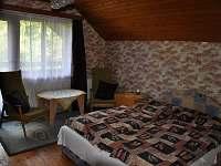 ložnice č.1 - chata k pronajmutí Březka - Jinolice