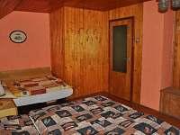 ložnice č.1 - chata k pronájmu Březka - Jinolice