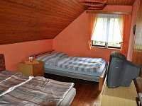 ložnice č.2 - chata k pronajmutí Březka - Jinolice