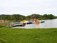 Komárovský rybník vodní atrakce - Branžež
