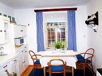 Kuchyně - pronájem chalupy Branžež
