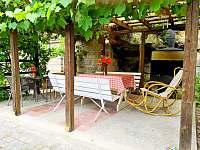 Pergola - chalupa ubytování Branžež