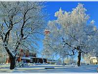 Kozákov v zimě - Záhoří - Dlouhý