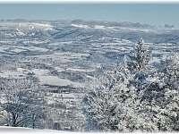 Pohled od vleku na Krkonoše - Záhoří - Dlouhý