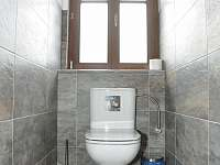 Roubenka pod Kozákovem - samostatné WC v pokkroví - Záhoří - Dlouhý