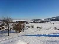 Výhled na Kozákov v zimě - Záhoří - Dlouhý