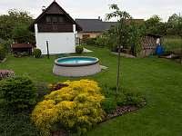 Bazén - chalupa k pronájmu Pařezská Lhota