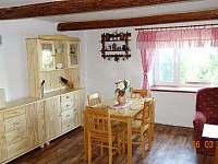 Obývací pokoj - chalupa ubytování Vyskeř