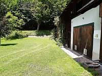 zahrada - chalupa k pronajmutí Zásadka