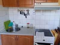 Kuchyň - apartmán k pronajmutí Pelešany