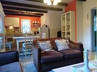 Obývací pokoj + kuchyň - Klokočí