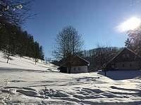 Zimní období - celkový pohled - Klokočí