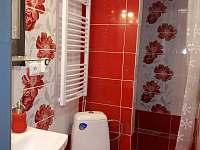 chata Amálka - koupelna, sprchový kout - Pecka