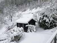 zahradní dome - chata k pronájmu Splzov