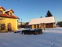 sněžná idylka - Brdo