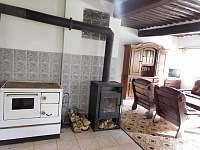 kuchyn - chalupa k pronájmu Nová Ves nad Popelkou