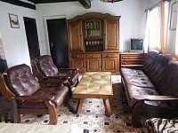 obývák - chalupa ubytování Nová Ves nad Popelkou