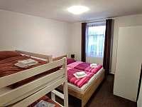 Apartmán pro čtyři, ložnice - Turnov