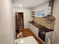 Apartmán pro tři, kuchyňka - Turnov