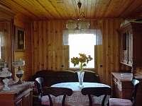 Obývák - chata ubytování Ohrazenice