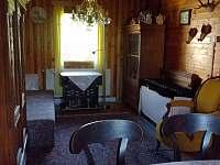 Obývák - chata k pronájmu Ohrazenice