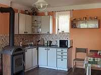 Kuchyně - chalupa ubytování Vyskeř