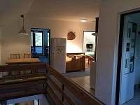 chodba - apartmán ubytování Pelešany
