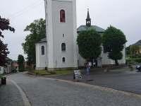 Poutní chrám Navštívení Panny Marie - chata k pronájmu Bozkov