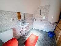 Koupelna - pronájem chalupy Libuň - Březka