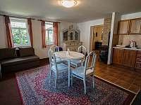 Kuchyň - obývací pokoj - Libuň - Březka