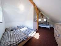 ložnice - chalupa k pronajmutí Libuň - Březka