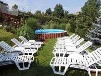 Bazén - lehátka