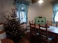 vánoční pohoda - pronájem chalupy Chuchelna-Komárov
